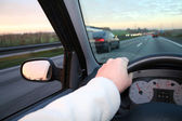 Drive steering car