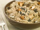 Bowl of Wild Mushroom Risotto