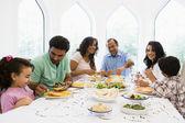 Středního východu rodina jste povečeřeli společně