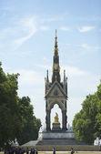 Tourists In Front Of Albert Memorial, London, England