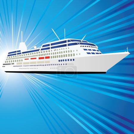 Ocean liner, ship