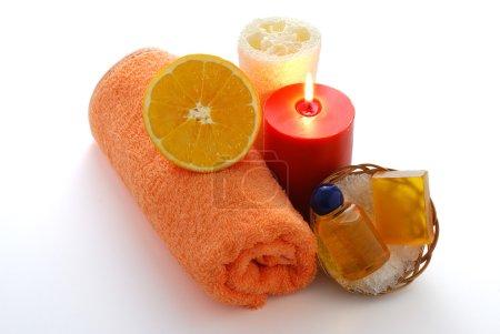 Orange flavored SPA