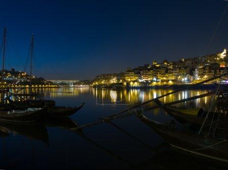 Night scene of Porto