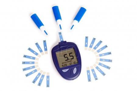 Test Blood Sugar on Glucose Meter