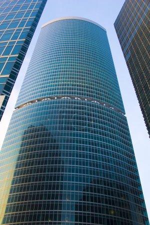 Photo pour Bâtiments financiers gratte-ciel, partie du « quartier de Moscou » - image libre de droit