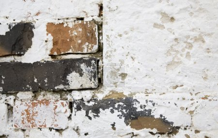 Photo for Old Style Church Brick Wall Background - Royalty Free Image