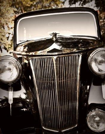 Classic vintage car