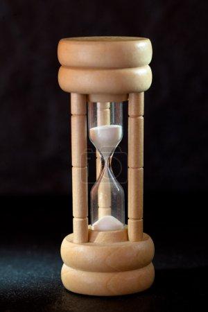 Hourglass close-up