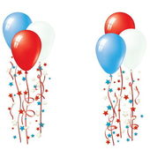 Patriotic Balloon Vector Balloon Collection