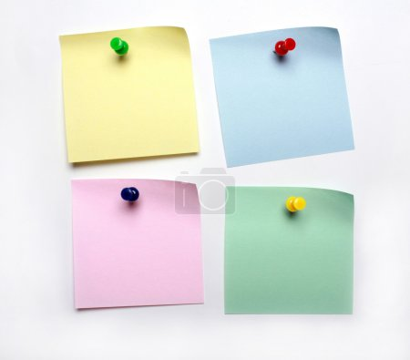 Photo for Blank yellow post it to do list - Royalty Free Image