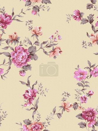 Foto de Fondo floral, elemento para el patrón de diseño - Imagen libre de derechos