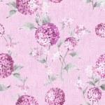Pink paisley seamless background pattern...