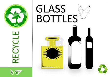 Please recycle glass bottles...