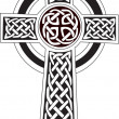Complex Celtic cross symbol great for tattoo. Can ...