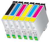 Ink-jet cartridge for bubble-jet of