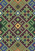 Vector illustration of ethnic ukrainian seamless ornament