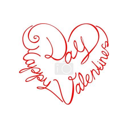Happy valentine's day, vector