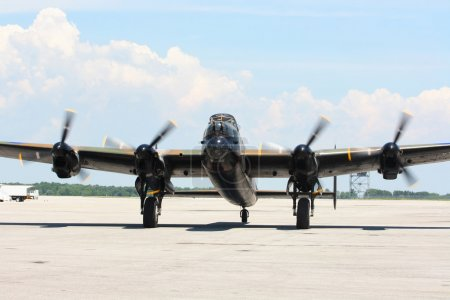 The most sophisticated British Bomber Lancaster wi...