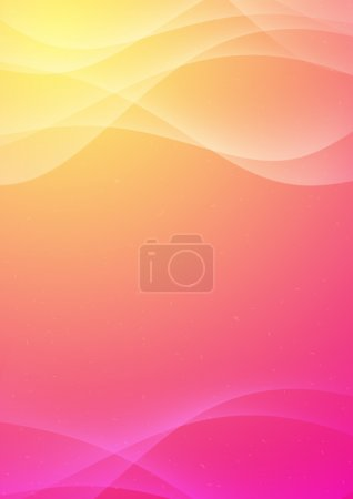 Photo for Abstract colour background with the smooth bent lines - Royalty Free Image