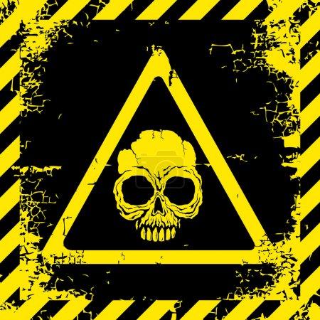 Warning sign of danger