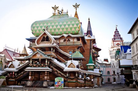 Photo for Beautiful kremlin in Izmailovo, Moscow, Russia - Royalty Free Image
