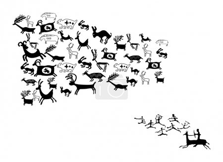ANCIENT ANIMAL DRAWINGS