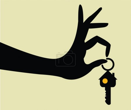 Take the keys for home