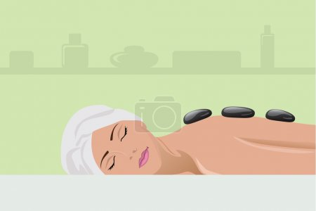 Girl spa procedures