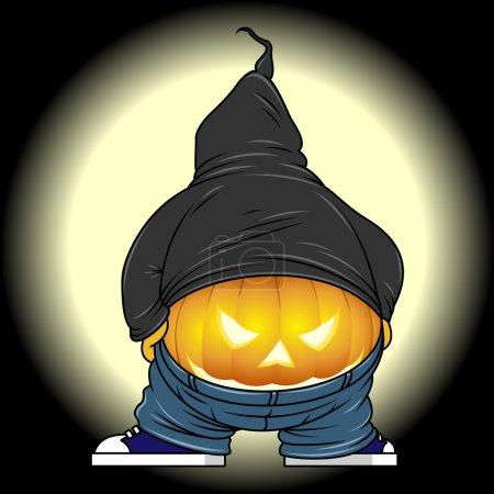 Halloween buttocks