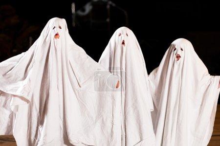 Three very, very scary spooks