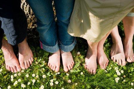 Healthy feet series: feet of men