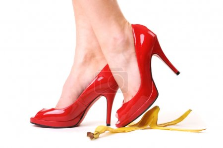 Red shoes and