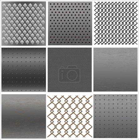 texture Set de fer