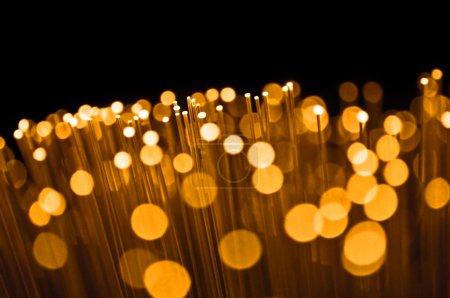 Golden optical abstract