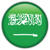 Saudi Arabia flag icon button with official coloring