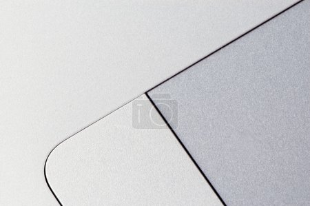 Photo for Abstract aluminum texture (macro shot of touchpad) - Royalty Free Image