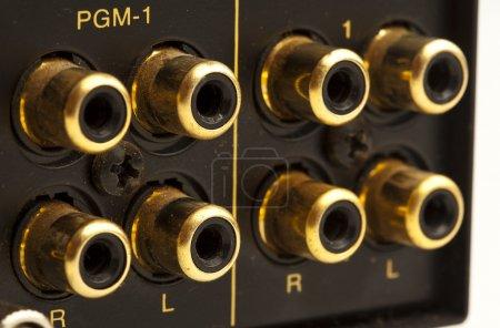 Sound card inputs