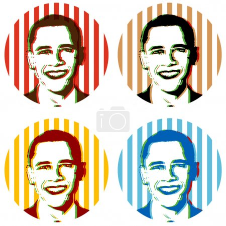 Obama illustrations
