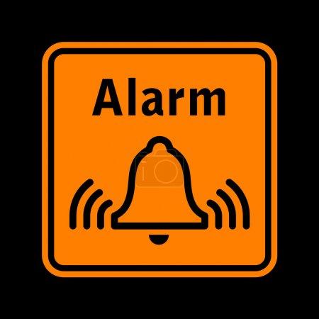 Alarm sign