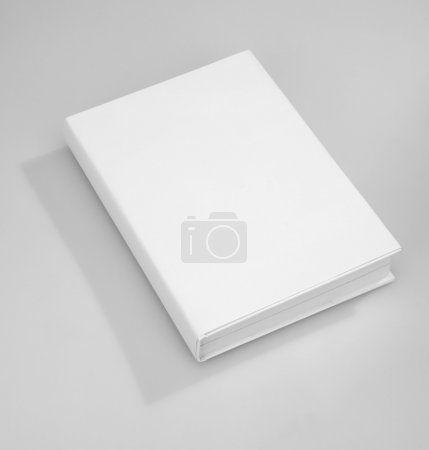 Photo for Blank book cover white - Royalty Free Image