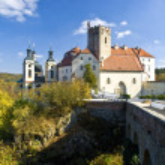 Vranov nad Dyji the old czech castle...