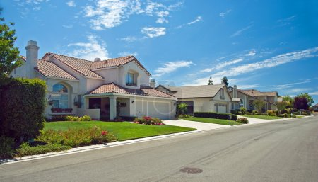 Photo for New American dream home panorama - Royalty Free Image