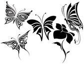 Butterflies tribal