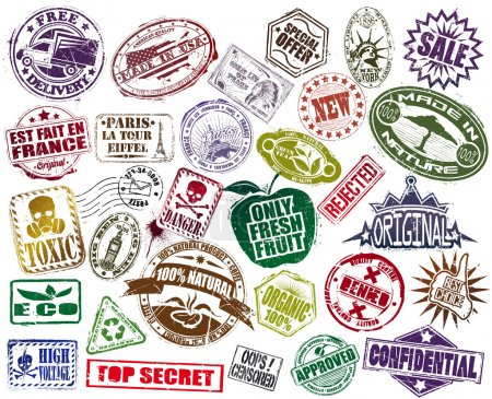 Rubber stamps a set 2