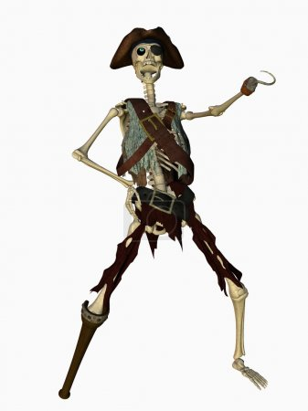 Undead pirate...