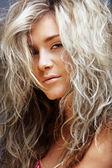 Krásná blondýnka