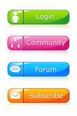 Sada web ikony