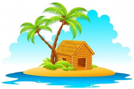 Hut in Island