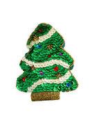 Christmas tree toy. Hand-made souvenir