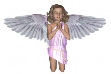 Praying Angel 4